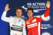 F�nfte Pole in Folge f�r Rosberg