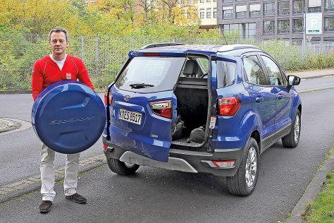 Modellgepflegtes SUV: das ist neu beim Ford EcoSport ...