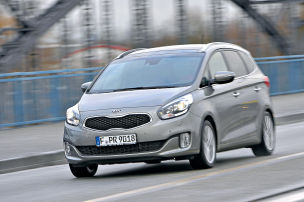 Kia Carens: Dauertest