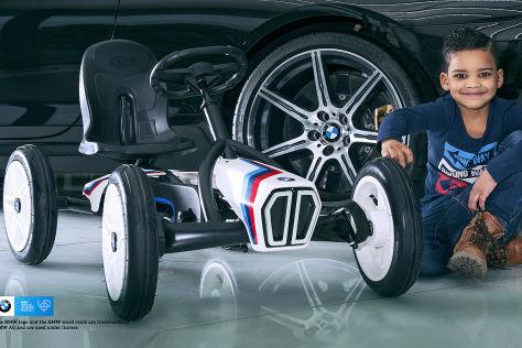 Tretauto im BMW-Look