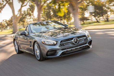Mercedes-AMG SL 63 (LA 2015): Sitzprobe