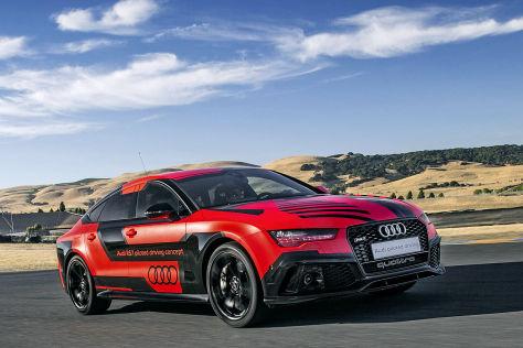 Audi testet pilotiertes Parken