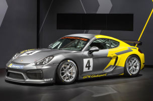 Porsche Cayman GT4 Clubsport (2016): LA Auto Show 2015