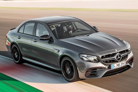 Mercedes-AMG E 63 (2016): Erlkönig
