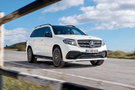 Mercedes-AMG GLS 63 (LA 2015): Sitzprobe