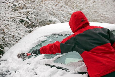 Winter: Die größten Autofahrer-Fehler