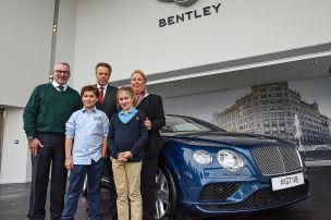 Familienbesuch bei Bentley