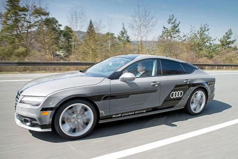 Vernetzte Audi in Ingolstadt