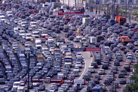 Autoverkehr in Russland: Reportage