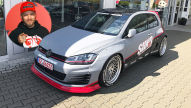 Sidney Hoffmann: VW Golf 7 Rocket Bunny