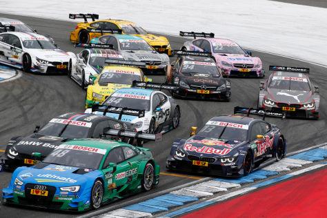 Die DTM wird 2016 erneut 18 Rennen bei neun Veranstaltungen absolvieren