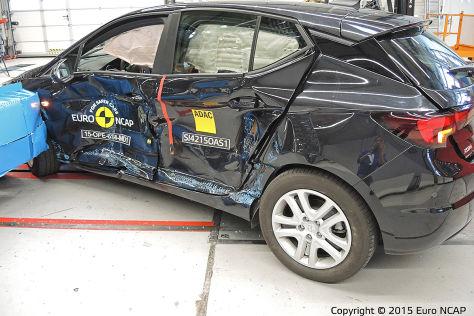 Euro NCAP Crashtest Dezember 2015