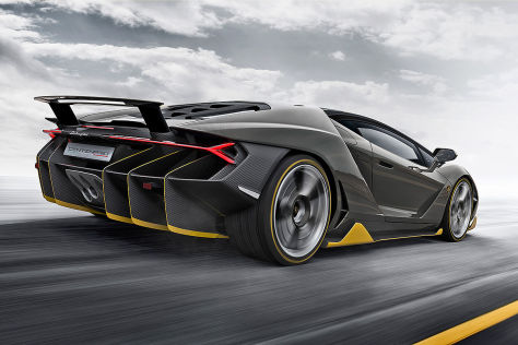 Lamborghini Centenario (Genf 2016): Vorschau