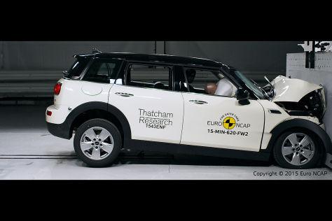 Euro-NCAP-Crashtest: Mini Clubman