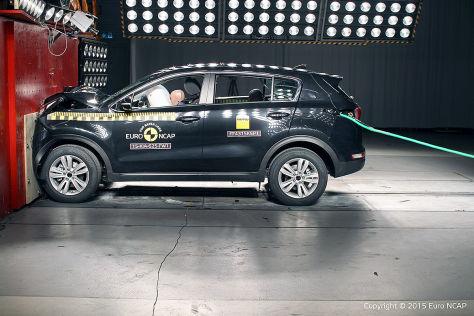 Kia Sportage: Euro-NCAP-Crashtest (2015)