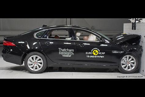 Euro NCAP Crashtest Jaguar XF