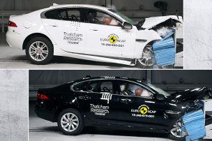 Jaguar XE/XF: Euro-NCAP-Crashtest (2015)