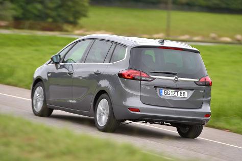 Opel Zafira 1.6 Diesel: CO2-Werte