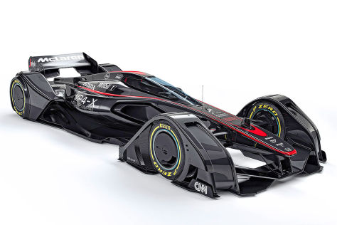 McLaren MP4-X: Vorschau