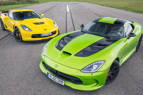 Chevrolet Corvette Z06 vs. SRT Viper