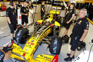Renault mit Werksr�ckkehr