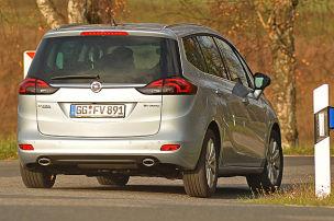 Opel Zafira: Dauertest