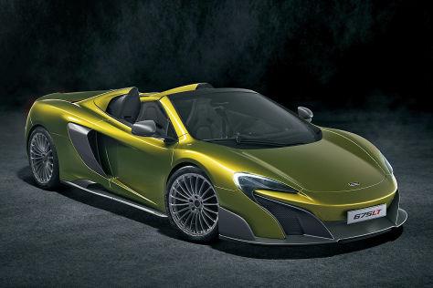 McLaren 675LT Spider: Vorstellung