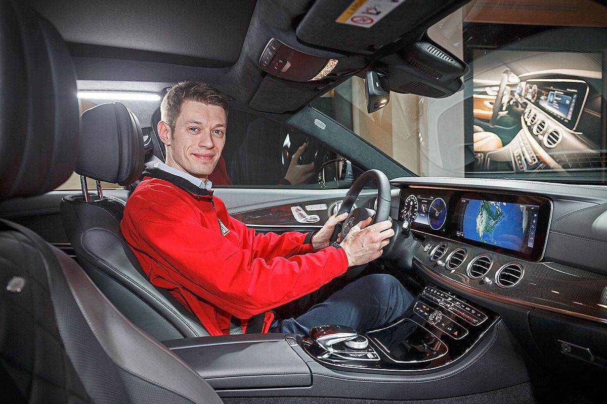Mercedes E-Klasse W213 im Test (Detroit 2016): Sitzprobe