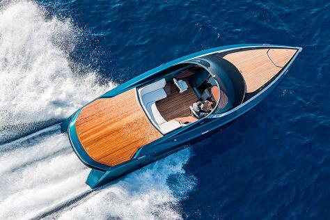 Bugatti baut Superyacht