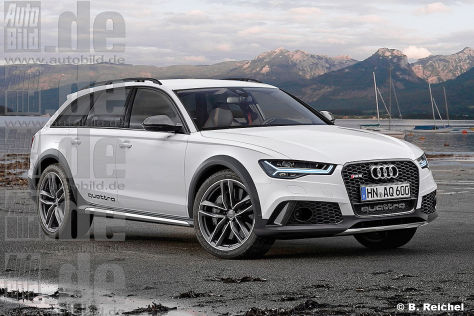 Audi RS 6 Allroad Illustration