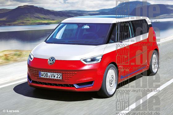 Vw E Bulli 2019 Vorschau Auf Den Budd E Als E Auto
