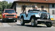 Vergleich Jeep Renegade (1970) und (2015)