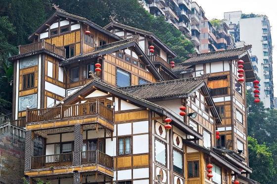 Chongqing eine moderne Metropole