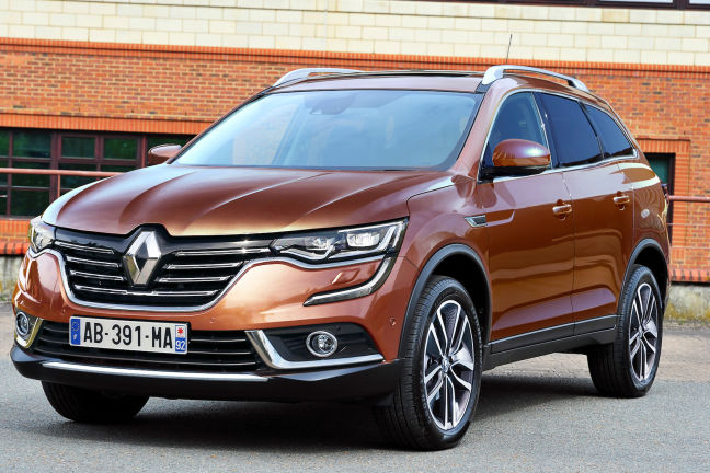 video renault koleos 2016. Black Bedroom Furniture Sets. Home Design Ideas