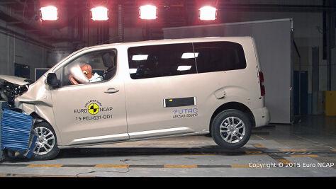Peugeot Traveller (2015): Euro-NCAP-Crashtest
