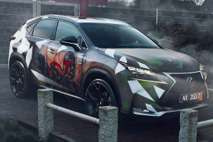 Cham�leon-Car: Lexus NX im Star Wars Look