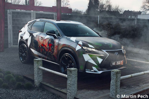 Lexus NX im Star Wars Look