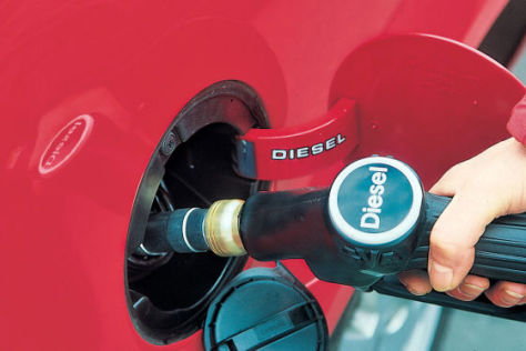 Umweltbundesamt fordert Abschaffung des Diesel-Privilegs