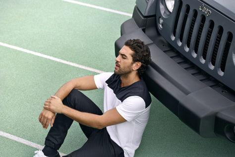 Elyas M-Barek wirbt für Jeep
