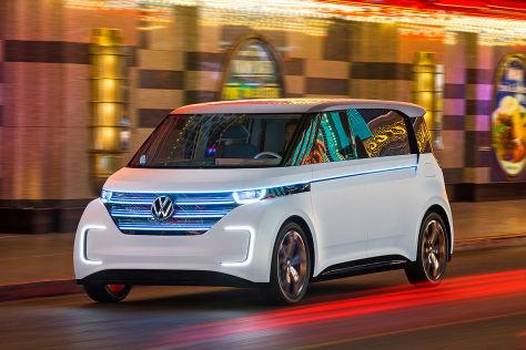 VW Budd-e (CES 2016): Sitzprobe