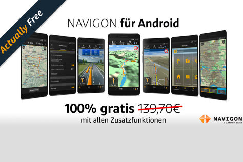 navigon europe gratis bei amazon underground. Black Bedroom Furniture Sets. Home Design Ideas
