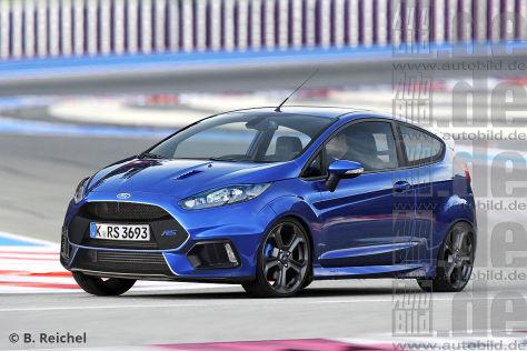 Ford Fiesta RS (2017): Vorschau