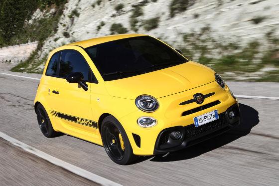Fiat 595 Abarth Competizione Im Test Fahrbericht Ps