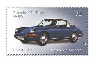 Porsche 911 und Ford Capri: Briefmarken