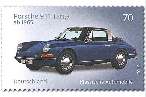 Autos auf Briefmaken