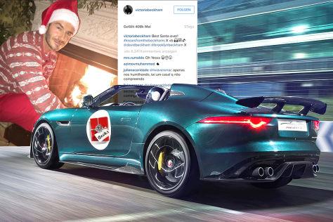 Beckham, Tyga, Fetty Wap & Co: Supercars zu Weihnachten