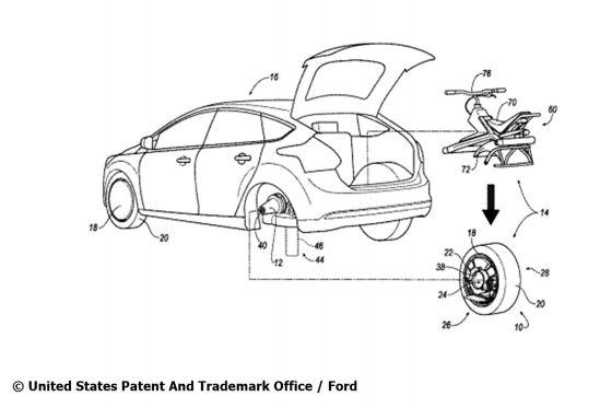 Ford hat ein Rad ab
