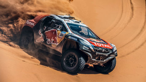 Dakar startet mit Sainz und Loeb