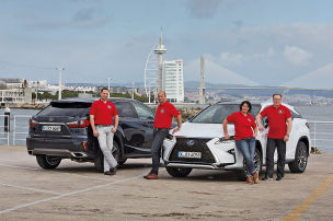 Partneraktion: Lexus RX-Premierentester