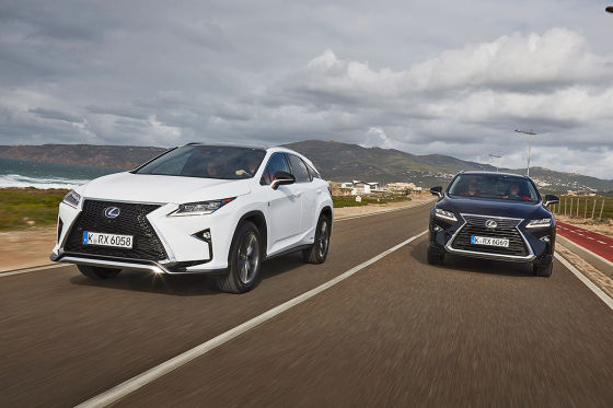 Partneraktion: Lexus RX-Premierentester